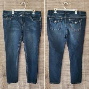 (Reposh) Paisley Sky stretch skinny leg jeans